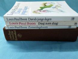 Louis Paul Boon; David's Jonge Jaren, Dag Aan Dag, Zomerdagdroom, Het Geuzenboek; - Literature
