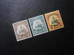 D.R.Mi 30 L*MLH/ 31**MNH/ 34*MLH - Deutsche Kolonien ( Deutsch-Ostafrika ) 1905/1920 - Mi 8,20 € - Colony: German East Africa