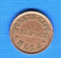 Metz  57  Grand  Café  Windsor  20  Pf - Monétaires / De Nécessité