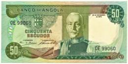 Angola - 50 Escudos - 24.11.1972 - Pick 100 - Série OE - Marechal Carmona - PORTUGAL - Angola