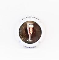 Capsules Ou Plaques De Muselet CHAMPAGNE GÉNÉRIQUE FLÛTE DE CHAMPAGNE - Champagne