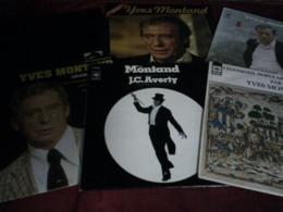YVES  MONTAND  °  COLLECTION DE 15 ALBUMS 33 TOURS - Collections Complètes