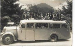 """65 - LOURDES - T.Belle Carte Photo Animée """" Bus Transport S.L.A. """" - Lourdes"""