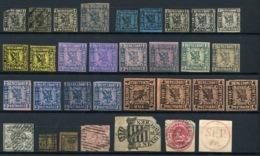G 05) ALTDEUTSCHLAND - Lot Gestempelt, Postfrisch, Gefalzt - Collections