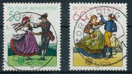 BRD 1981 Nr 1096-1097 Zentrisch Gestempelt X823E72 - [7] Repubblica Federale