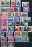 G 15) SERBIEN Satz-Lot Postfrisch Aus 1941-43, 128.- € - Besetzungen 1938-45
