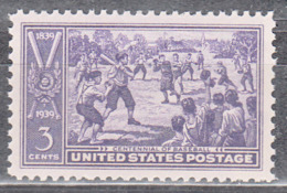 UNITED STATES     SCOTT NO 855    MNH     YEAR  1939 - Nuovi