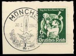 DEUTSCHES REICH 1941 Nr 762 Briefstück X82AD1E - Duitsland