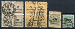 G 48) DEUTSCHES REICH - Lot Gestempelt GEPRÜFT Aus 1923, 60.- € - Germany