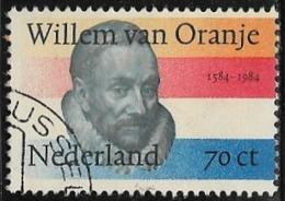 Netherlands SG1446 1984 William Of Orange 70c Good/fine Used [40/32863/6D] - Period 1980-... (Beatrix)