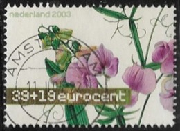 Netherlands SG2308 2003 Flower Paintings 39c+19c Good/fine Used [40/32864/6D] - Period 1980-... (Beatrix)