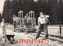 CPM - N° 179 - LA VOIE FERREE MODERNE - Descriptif Au Dos - Photo Borel - Edit. STEDEF A 500. 12. 62 - Trains