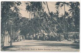 Bombay / Mumbay - Lady Jamshedhi, Road & Mahim. Postally Used In 1931, Message - India