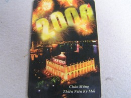 VIETNAM Used GPT Card   7MVSD Year 2000 - Singapur