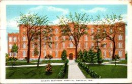 Wisconsin Oshkosh Alexian Brothers' Hospital 1935 - Oshkosh