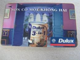 VIETNAM Used GPT Card   8UPV DULUX PAINT - Vietnam