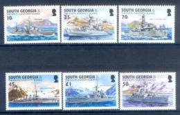 O31- South Georgia 2004 Royal Naval Frigates & Cruisers Ships. - Georgia