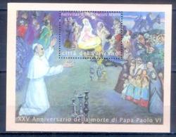 O34- Vatican 2003 Christmas. - Christmas