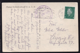 OSt. Helgoland 28.6.29 + Auf Hoher See An Bord Des Turb.-Dampfers Kaiser - Unclassified