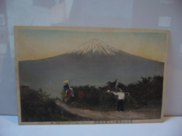 MT FUJI FROM OTOMETOGE HAKONE  CPA MADE IN JAPAN JAPON - Other