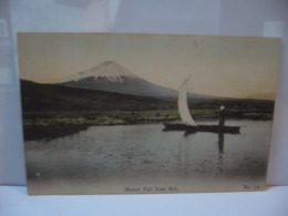 MOUNT FUJI FROM KAI NO 70  CPA MADE IN JAPAN JAPON - Other