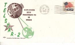 USA 1963 TELSTAR-2 Satellite Commemorative Cover - Covers & Documents