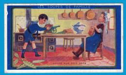 IMAGE TEINTURE LA CAYOLAISE  CANTRELLE & Cie Fab Chim VERSAILLES / VERGER FRERES & Cie PARIS / LES SOUPES DE FAMILLE AUX - Otros