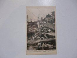 CPA 85 VENDEE - SABLES D'OLONNE : Quartier De La Chaume - Débarquement De La Sardine - Sables D'Olonne