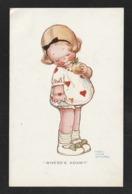 Enfant Petite Fille Et Pomme WHERE ADAM ? Par  Illustrateur : Mabel Lucie Atwell   - Très Très Bon état - Yn159 - Children's Drawings