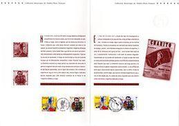 """"""" FRANCE-ARGENTINE TANGO """" Sur Document Philatélique Officiel 1er Jour (4 Pages) De 2006 N° YT 3932 33 + TIM ARG. DPO - Emissions Communes"""