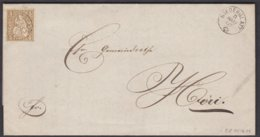 ZH   NIEDERGLATT - HOERI  / 1867 - Lettres & Documents