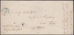 ZH NIEDERGLATT -  WOLLERAU / 1855 - SUPER ZWERG-STEMPEL AUCH AUF RUECKSEITE - Poststempel