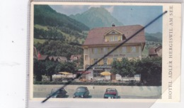 Suisse ; Hôtel Adler Hergiswil Am See - NW Nidwald