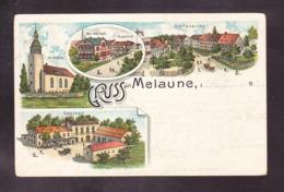 D3-84 GRUSS AUS MELAUNE - Goerlitz