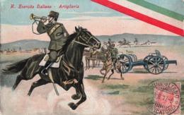 Militaire Guerre 1914 1918 Armée Italienne Artillerie Esercito Italiano Artiglieria Cachet 1917 Conegliano Caporal - Oorlog 1914-18
