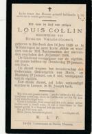 Bierbeek, 1908, Louis Collin, Vandenbosch - Devotieprenten