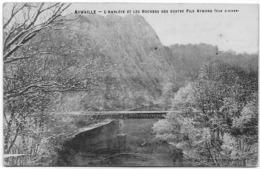 AYWAILLE 1915 : L'Amblève L'hiver Et Les Rochers Des 4 Fils Aymon - Aywaille