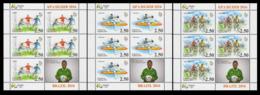 2016Tajikistan 736KL-738KL2016 Olympic Games In Rio De Janeiro - Sommer 2016: Rio De Janeiro