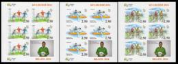 2016Tajikistan 736KLb-738KLb2016 Olympic Games In Rio De Janeiro  (edition 200) 225,00 € - Sommer 2016: Rio De Janeiro