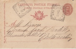 A/1 - CARTOLINA POSTALE ITALIANA - AMB .TORINO-ROMA - CIVITAVECCHIA - Marcophilia