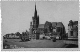 EEKLOO : Groote Markt En Kerk - Eeklo