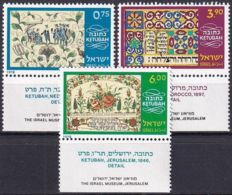 ISRAEL 1978 Mi-Nr. 730/32 ** MNH - Ongebruikt (met Tabs)