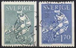 --- 1963 Suède Y. 501 / 502 (O) M. 502 / 503 (O) - Suède