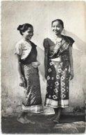 LAOS.  JEUNES LAOTIENNES EN COSTUME - Laos