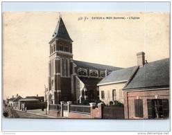 80 CAYEUX SUR MER - L'église (couleurs) -- - Cayeux Sur Mer