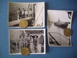 INDOCHINE / ROYALE / LOT 3 PHOTOS MARINE NATIONALE / ORIGINALES / 16 - Barcos