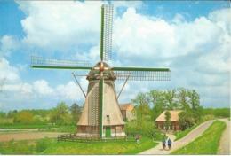 Netherlands - Waardenburg - Dutch Windmill / Molen / Muhle - Nederland