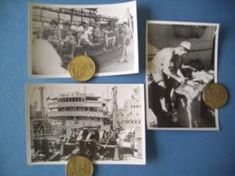 INDOCHINE / ROYALE / LOT 3 PHOTOS MARINE NATIONALE / ORIGINALES / 18 - Barcos