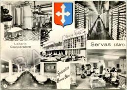 Servas (01) - Quelques Vues (Recto-Verso) - Francia