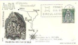 FDC   1966  AVILA  MARCA ALFIL - FDC